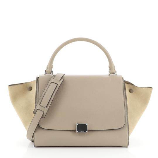 Preload https://img-static.tradesy.com/item/26444221/celine-trapeze-medium-neutral-leather-and-suede-tote-0-0-540-540.jpg
