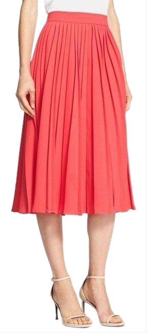 Preload https://img-static.tradesy.com/item/26444248/kate-spade-pink-accordion-aladdin-pleated-skirt-size-8-m-29-30-0-1-650-650.jpg