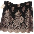 MILLY Mini Skirt black/lilac silver Image 0