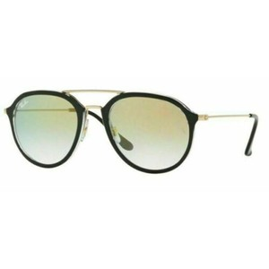 Ray-Ban Clear Gold Gradient Lens RB4253 6052/Y0 50 Unisex Pilot Sunglasses