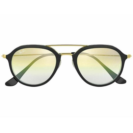 Ray-Ban Clear Gold Gradient Lens RB4253 6052/Y0 50 Unisex Pilot Sunglasses Image 1