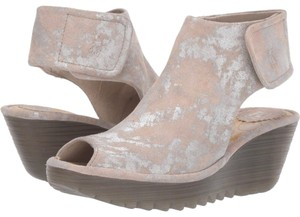 FLY London Pink Wedges
