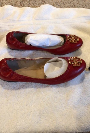 Tory Burch Red/Cerise Flats Image 1