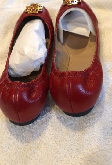 Tory Burch Red/Cerise Flats Image 3