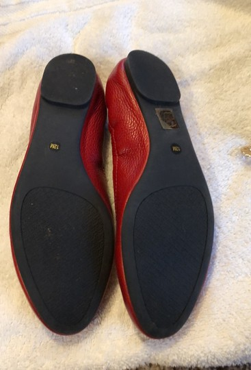 Tory Burch Red/Cerise Flats Image 4
