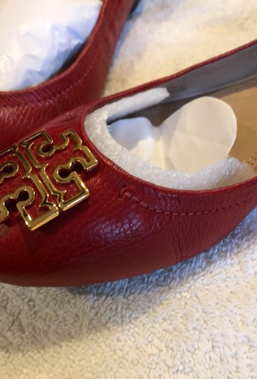 Tory Burch Red/Cerise Flats Image 5
