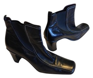 Moda Spana Leather Black Boots