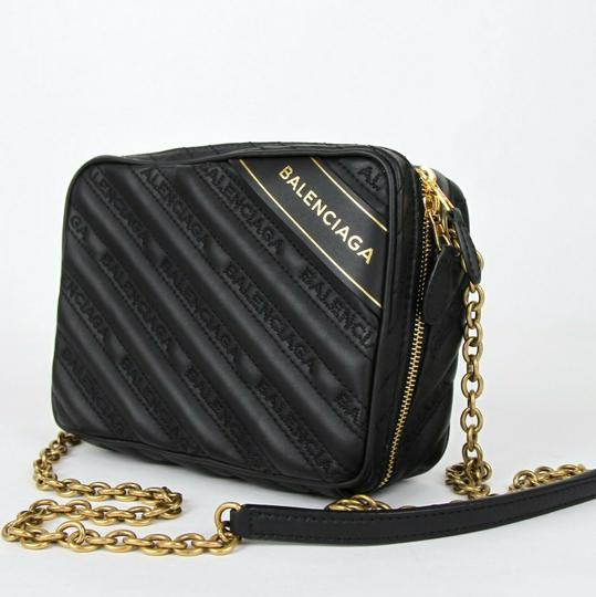 Balenciaga Leather Embossed Cross Body Bag Image 3