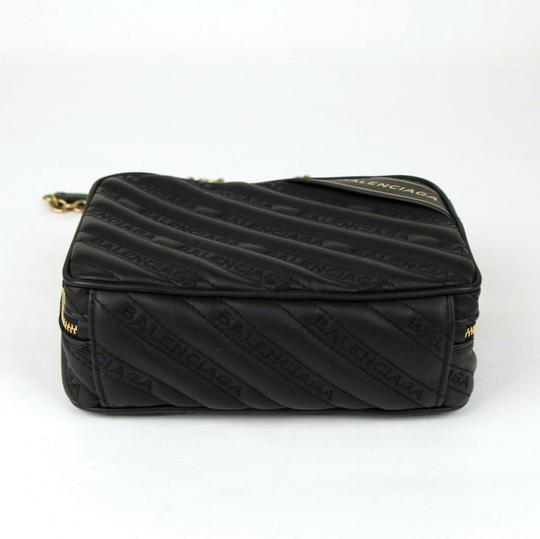 Balenciaga Leather Embossed Cross Body Bag Image 6
