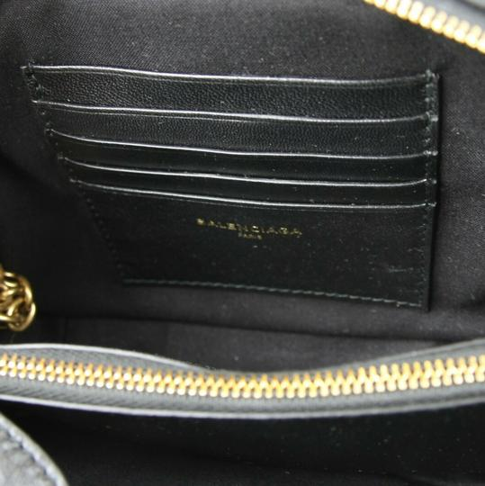Balenciaga Leather Embossed Cross Body Bag Image 9