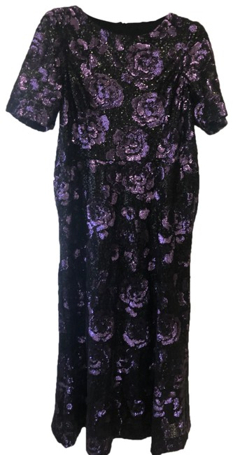 Preload https://img-static.tradesy.com/item/26444314/vera-wang-purple-sequin-gown-long-cocktail-dress-size-14-l-0-1-650-650.jpg