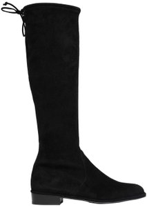 Stuart Weitzman Date Night Night Out Hollywood Party Holiday Black Boots
