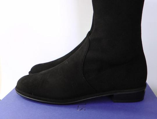 Stuart Weitzman Date Night Night Out Hollywood Party Holiday Black Boots Image 6