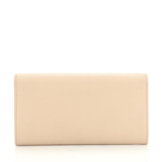 Chanel Wallet Leather neutral Clutch Image 2