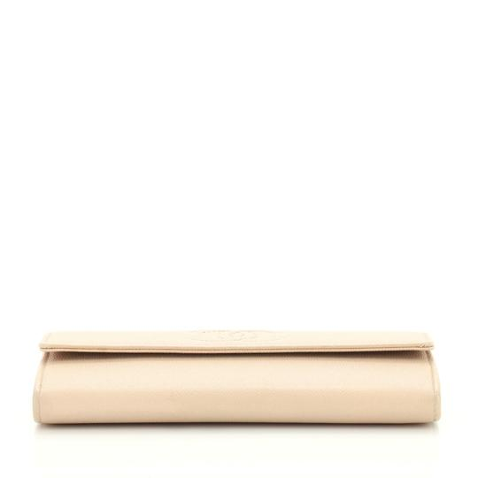 Chanel Wallet Leather neutral Clutch Image 3