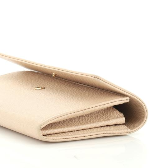 Chanel Wallet Leather neutral Clutch Image 5
