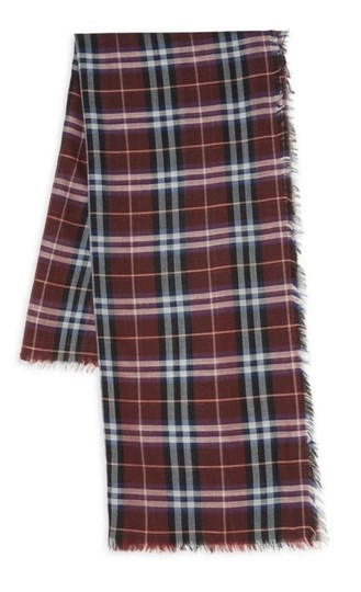 Burberry Burberry Wool Plaid Scarf Image 2