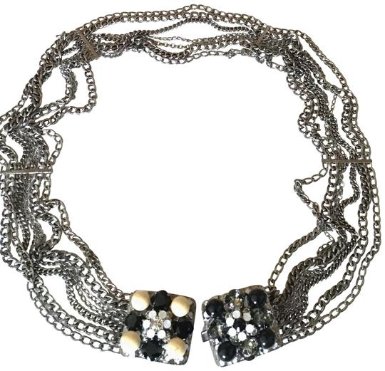 Preload https://img-static.tradesy.com/item/26444403/chanel-solid-and-exquisite-gem-opal-gripoix-glass-ruthenium-belt-necklace-0-1-540-540.jpg
