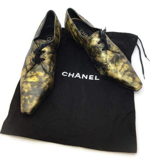 Chanel Black / Gold Boots Image 10