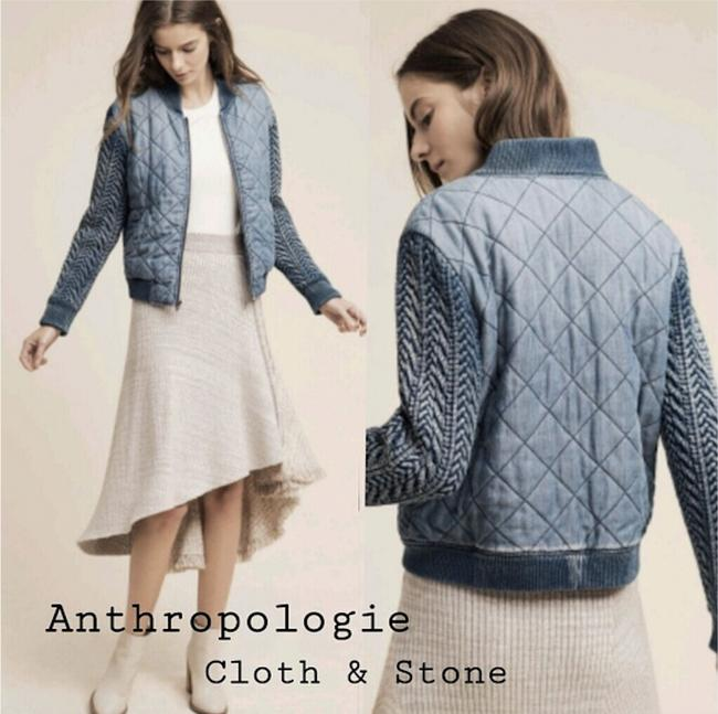 Anthropologie Womens Jean Jacket Image 1