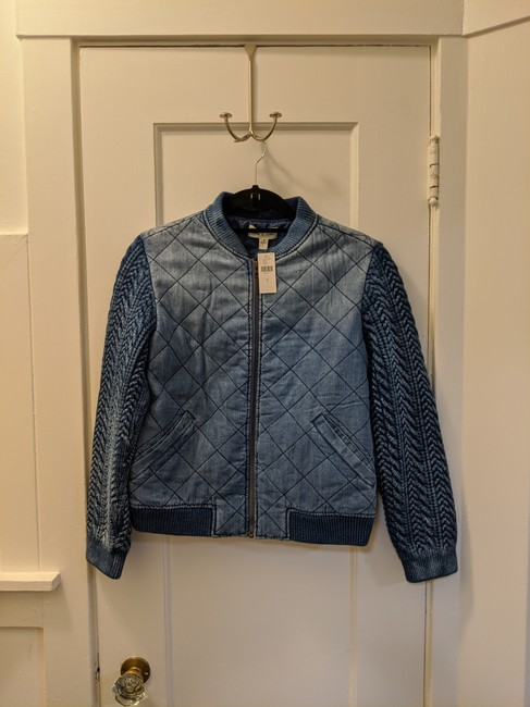Anthropologie Womens Jean Jacket Image 4