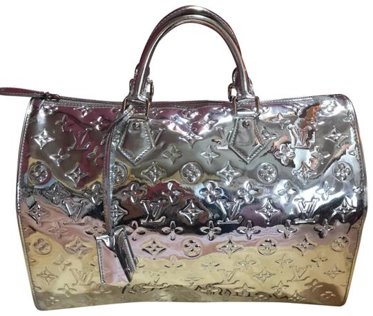Preload https://img-static.tradesy.com/item/26444442/louis-vuitton-boston-bag-speedy-35-doctor-collectors-silver-monogram-mirior-miroir-mirror-rare-pvc-v-0-1-540-540.jpg