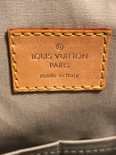 Louis Vuitton Satchel in Silver Monogram Mirior Miroir Mirror Rare Image 10