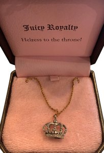 Juicy Couture Juicy Couture Crown Necklace