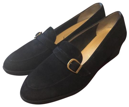Preload https://img-static.tradesy.com/item/26444474/salvatore-ferragamo-black-suede-loafers-pumps-size-us-8-regular-m-b-0-1-540-540.jpg