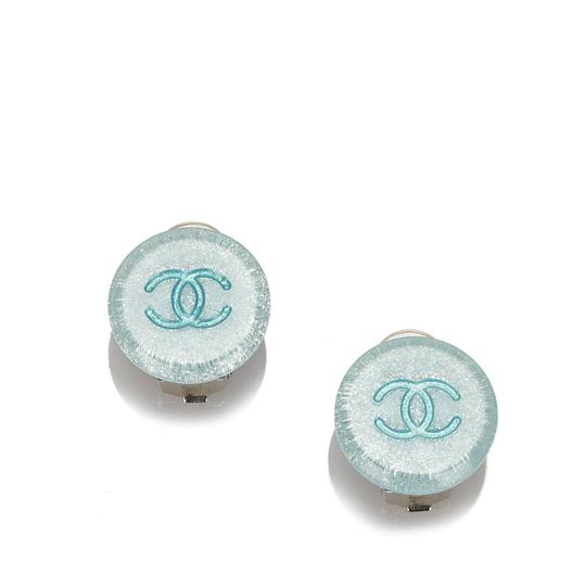 Chanel Chanel Plastic CC Earrings Image 6