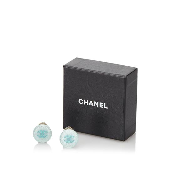 Chanel Chanel Plastic CC Earrings Image 9