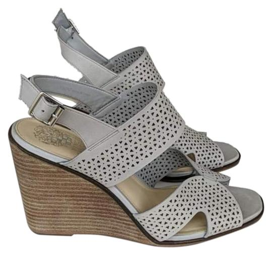 Vince Camuto Gray Wedges Image 0