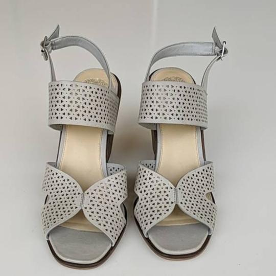 Vince Camuto Gray Wedges Image 1