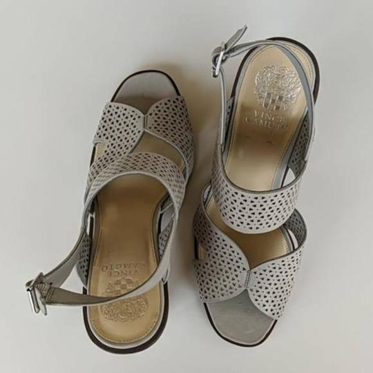 Vince Camuto Gray Wedges Image 2