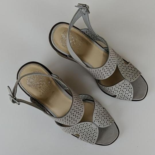 Vince Camuto Gray Wedges Image 4