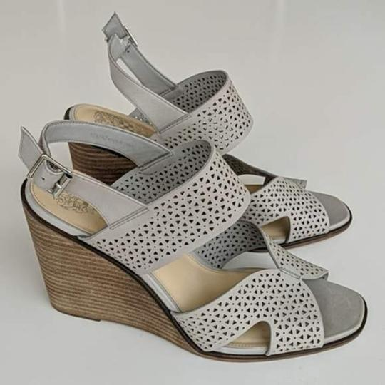 Vince Camuto Gray Wedges Image 6
