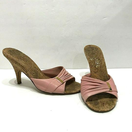 Chanel Pink Mules Image 2
