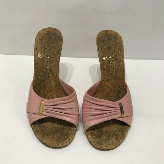 Chanel Pink Mules Image 3