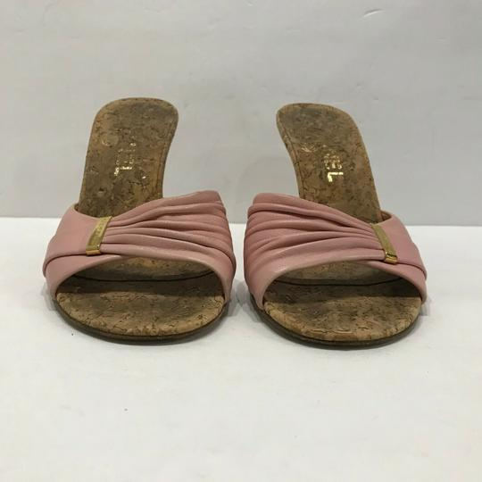 Chanel Pink Mules Image 4