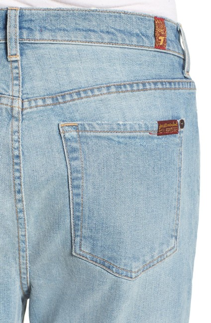 7 For All Mankind Boyfriend Cut Jeans-Distressed Image 3