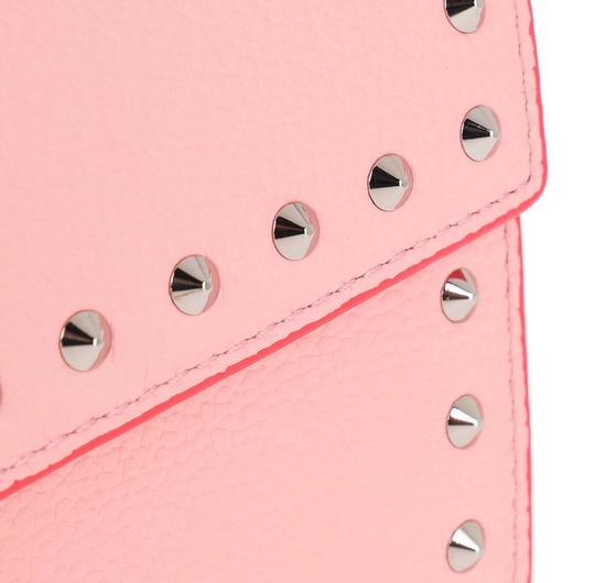 MCM Woc Woc Studded Large Wallet Leather Cross Body Bag Image 4