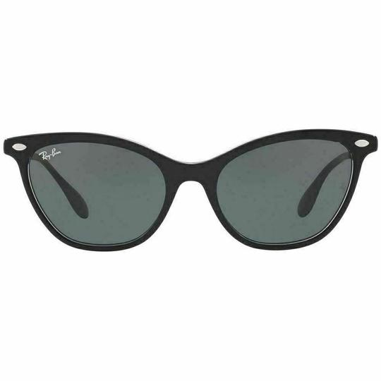 Ray-Ban Frame & Green Classic Lens RB4360 919/71 Cat Eye Women's Sunglasses Image 1