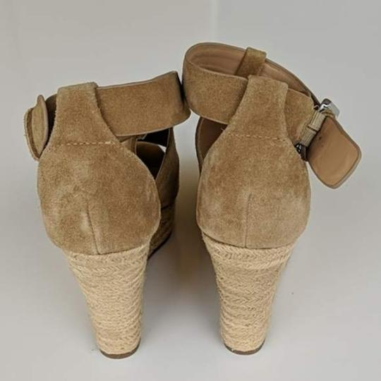 Marc Fisher Tan Brown Wedges Image 2