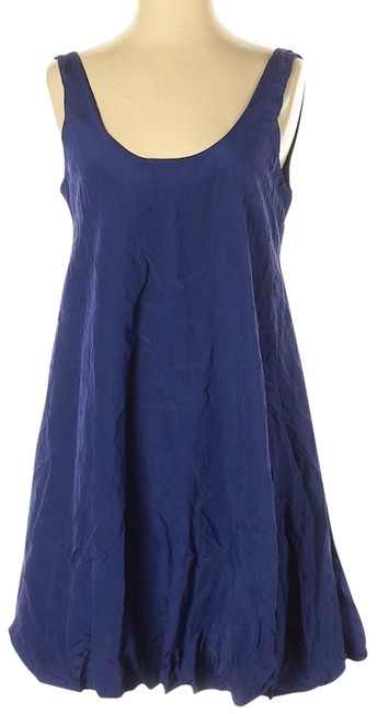 Elizabeth and James Scoop Back A-line Sleeveless Pleated Dress Image 0