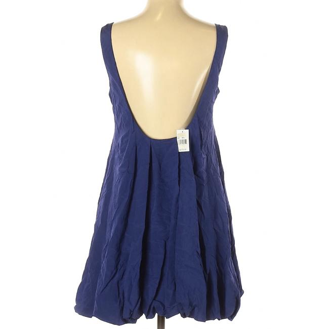 Elizabeth and James Scoop Back A-line Sleeveless Pleated Dress Image 1