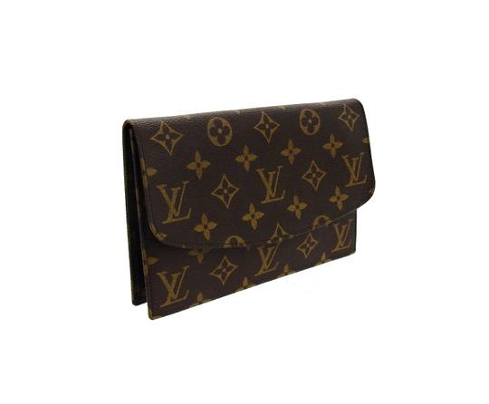 Preload https://img-static.tradesy.com/item/26444604/louis-vuitton-pochette-rabat-rare-vintage-20-brown-monogram-canvas-leather-clutch-0-1-540-540.jpg