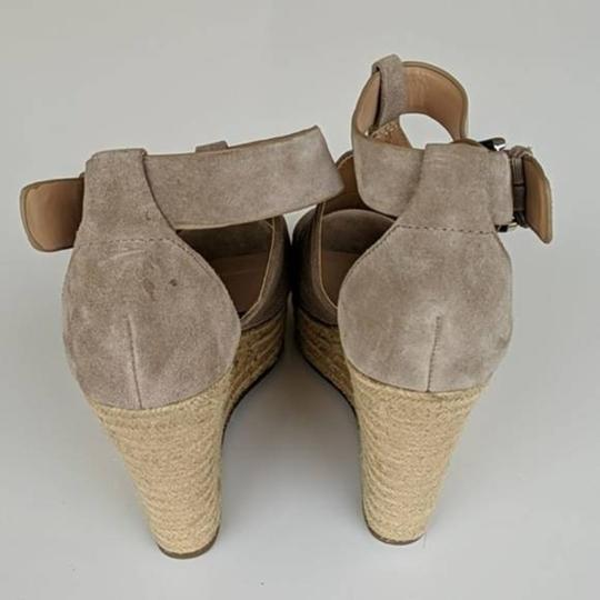 Marc Fisher Tan Wedges Image 1