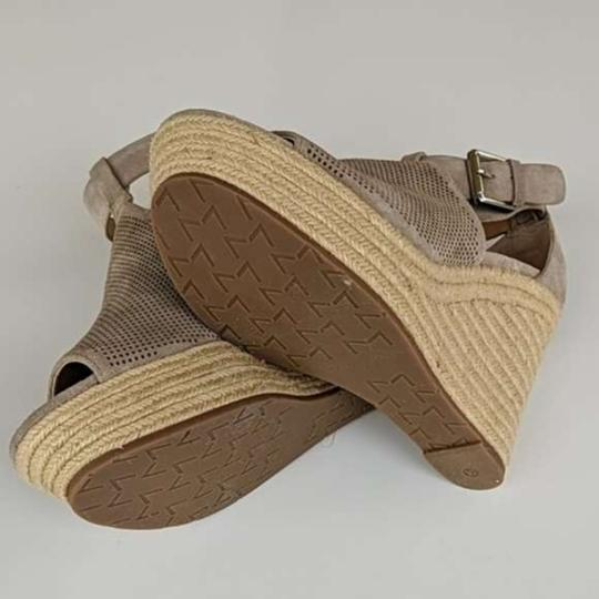 Marc Fisher Tan Wedges Image 2