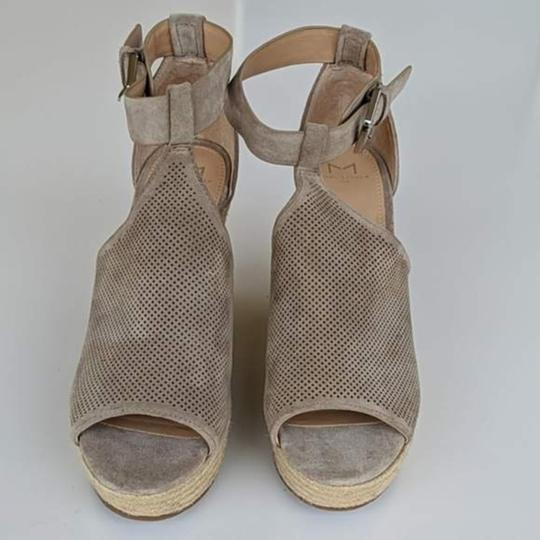 Marc Fisher Tan Wedges Image 5