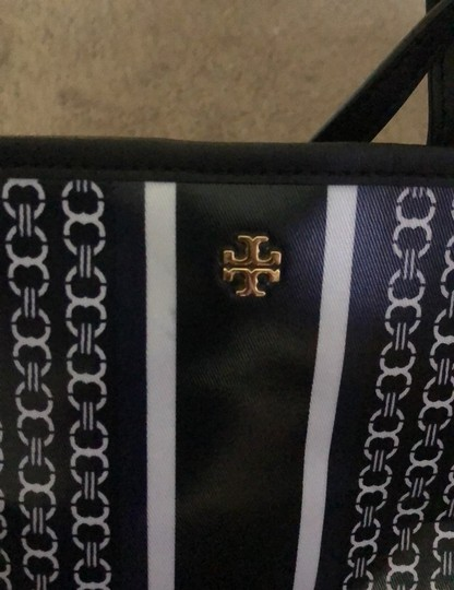 Tory Burch Tote in blue/white Image 7